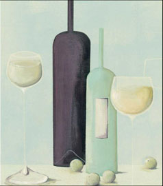 Poster - Evans, Nicola Wine And Grapes