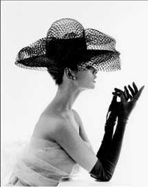 Poster - French, John Madame Paulette Net Hat, 1963