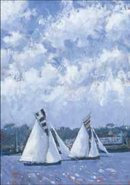 Poster - Jones, Robert Sailing, Falmouth II