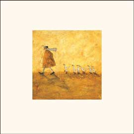 Poster - Toft, Sam Walking with Ducks