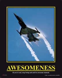 Poster - Awesomeness Jet