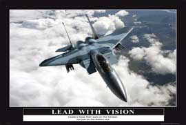 Poster - Motivational Lead with Vision