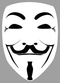 Poster - Fawkes, Guy Promi Maske