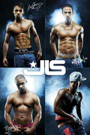 Poster - JLS Topless all 4