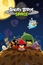 Poster - Angry Birds Vehicles Space