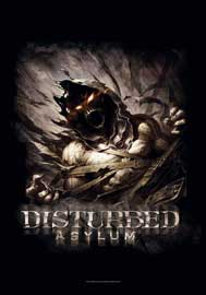 Poster - Disturbed  Big Fade Asylum
