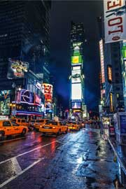 Poster - New York Times Square HDR