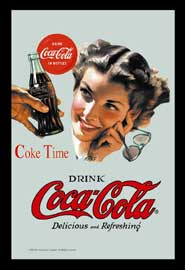 Poster - Coca Cola Coke Time