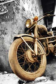 Motorcycles Brown Colourlight