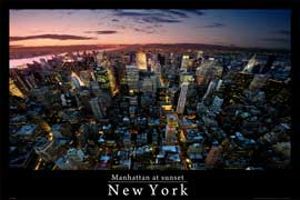 Poster - New York Fisheye