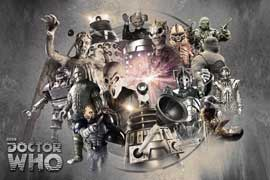 Poster - Doctor Who Enemies