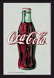 Poster - Coca Cola Bottle