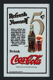 Poster - Coca Cola Refresh Yourself