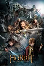 Poster - Hobbit, The Collage