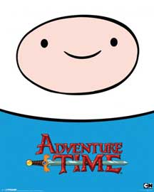 Poster - Adventure Time Finn