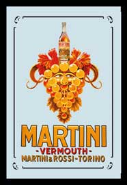 Poster - Martini Grapes