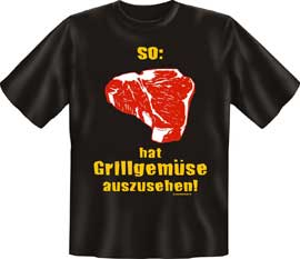 Poster - Grillgemüse BBQ Grill