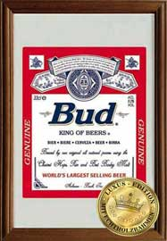 Poster - Budweiser King of Beers