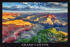 Poster - Grand Canyon View