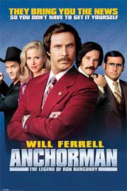 Poster - Anchorman, The