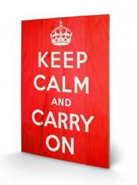 Poster - Keep Calm And Carry On