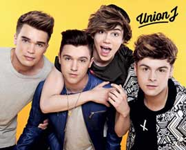 Poster - Union J Yellow