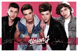 Poster - Union J Pink