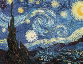 Poster - Van Gogh, Vincent Starry Night