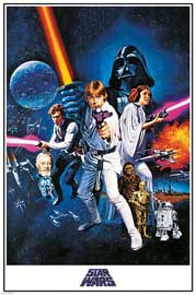 Poster - Star Wars A New Hope - One Sheet
