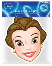 Poster - Disney Princess - Belle Maske