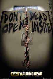 Poster - Walking Dead Keep Out