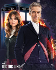 Poster - Doctor Who Doctor and Clara