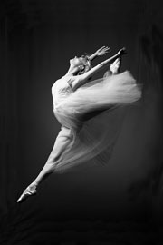 Poster - Ballerina  Grace In Motion