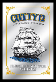 Poster - Cutty Sark Cutty 12 Whisky