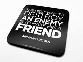 Poster - Lincoln, Abraham A Friend