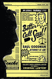 Poster - Breaking Bad Better Call Saul!