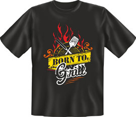 Poster - Grillen Born to grill