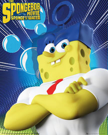 Poster - Spongebob The Movie - Standing