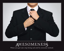Poster - Motivational Awesomeness