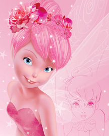 Poster - Disney Fairies - Tink Pink