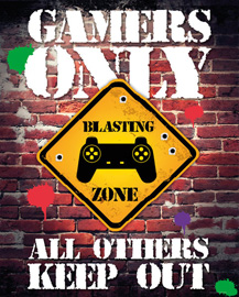Poster - Gaming Gamers Only