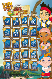 Jake And The Neverland Pirates Learn To Count With