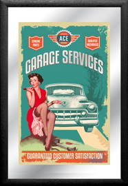 Poster - Garage Service and Repairs