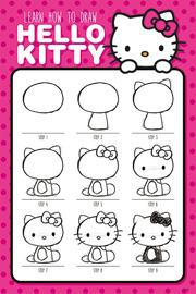 Hello Kitty How To Draw