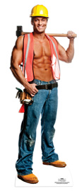 Poster - Chippendales Billy Bauarbeiter
