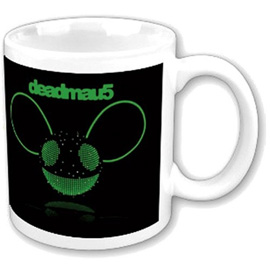 Poster - Deadmau5 Green Disco-Ball Head