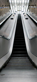 Poster - Rolltreppe