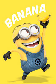 Poster - Despicable Me Minions Banana