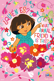 Poster - Dora the Explorer Animal Friend