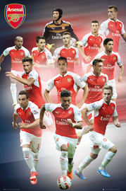 Arsenal FC Players 15/16